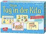 Unser Tag in der Kita. 50 Bildkarten zur Eingewöhnung. Für den Übergang in den Kindergarten (Kleine Helfer im Kita-Alltag)