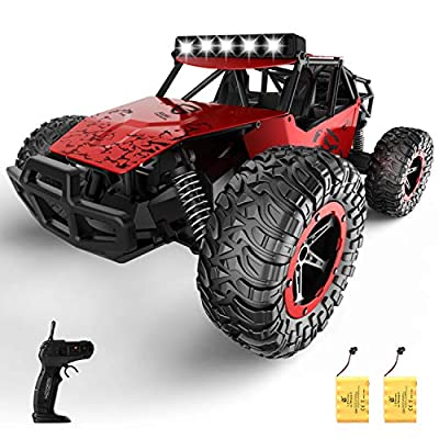 Amazon - 50% Off on  Remote Control Car for Boys Girls, 20+ Km/h High Speed RC Trucks Car, 1:14 Scale Fast All Terrains
