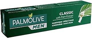 Palmolive Men Classic krem do golenia z ekstraktem z palm, 1 x 100 ml – pielęgnująca pianka do golenia do skóry normalnej ...