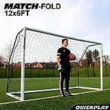 QuickPlay Pro Match-Fold Soccer Goal