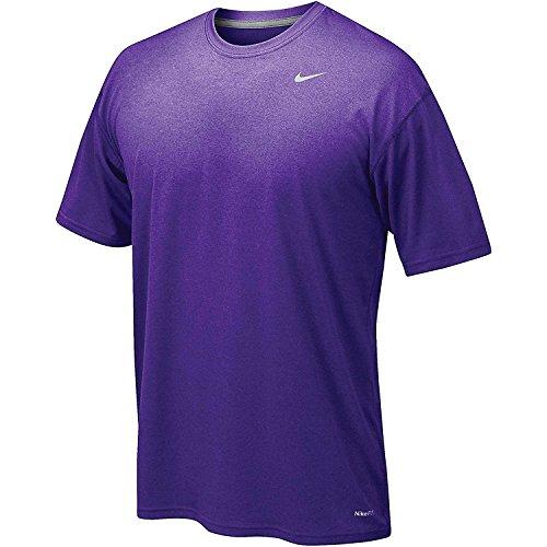 Nike Men's Legend Short Sleeve Tee, Purple, XL