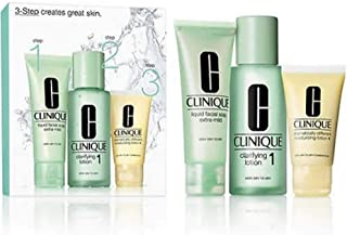 Clinique 3-Step Introduction Kit Skin Type 1, 180 ml