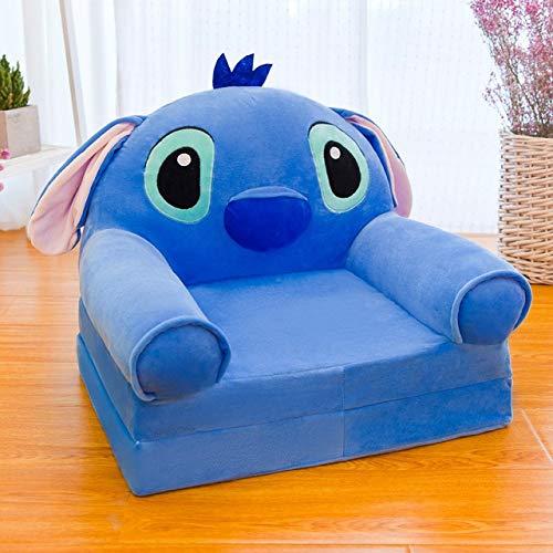 Canapé chaise Canapé dessin pliant siège bébé multifonctionnel banc maternelle selles sofa enfants (Color : F)