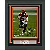 Framed Autographed/Signed Joe Burrow Cincinnati Bengals 8x10 Football Photo Fanatics COA