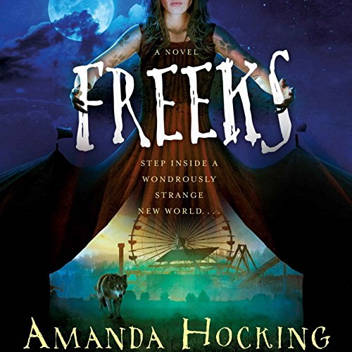 Freeks audiobook cover art