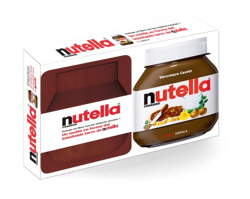 Kit Nutella: Incluye un libro con las mejores recetas + Un molde en forma del inimitable tarro de nutella (Kits Cúpula)