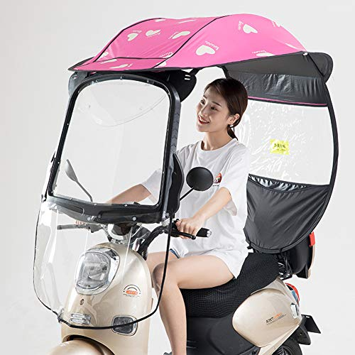 Fiets elektrische zonnescherm regenhoes, motorfiets regenhoes, universele elektrische fiets fiets zonnescherm regenhoes