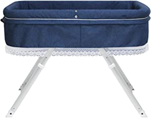 Folding Bassinet  The Versatile Portable Cradle Bed Universal For All Seasons Suitable For 0-12 Months 65cm