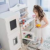 Teamson Kinder - Little Chef Marseille Retro Spielküche - White TD-12952A
