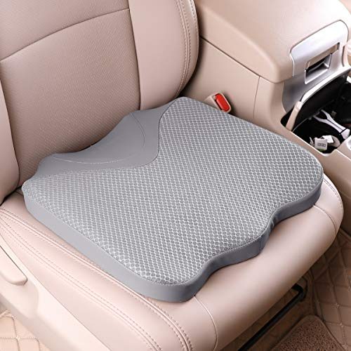 KINGLETING Car Seat Cushion, Driver Seat Cushion for Height, Universal Fit for Most for Auto SUV...