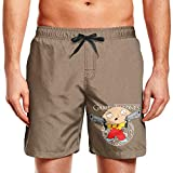 Men's Swimming Trunks Shorts Animated Sitcom Family Guy Stewie Griffin Quick Dry Swimming Trunks