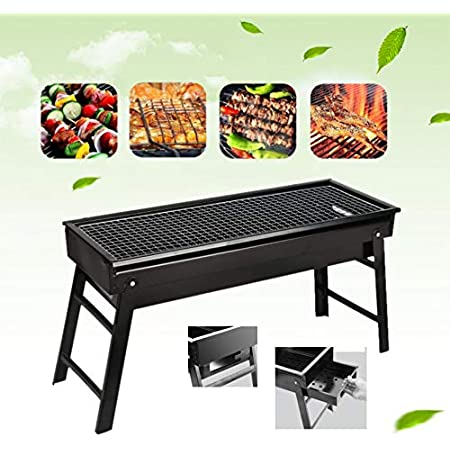 Charcoal Grill,Portable Barbecue Grill Folding BBQ Grill,Small Barbecue Grill,Outdoor Grill Tools for Camping Hiking Picnics Traveling 24''x13''x9''
