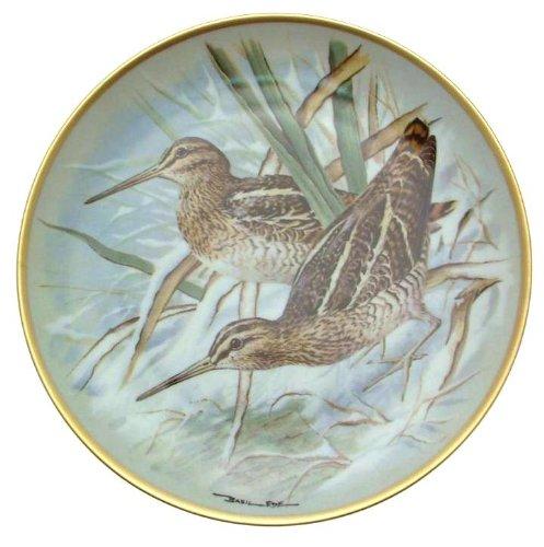 Filmposter c1979 Limoges Franklin Porzellan Gamebirds der Welt Basilikum Ede Bekassine CP1883 Teller