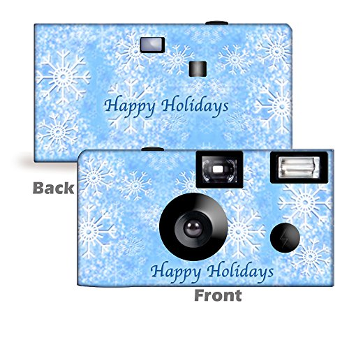 Best Prices! 5 Snowflakes Disposable Camera, Party, Holiday, Christmas