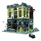 TASS 2835 St. Edificios europeos Street View Building Modelo para arquitectura Doomday Bloques bancarios compatibles con Lego