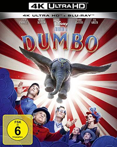 Dumbo (Live-Action) [4K Ultra HD] [Blu-ray]