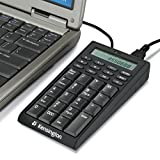 Kensington Notebook Keypad/Calculator with USB Hub, 19-Key Pad 72274
