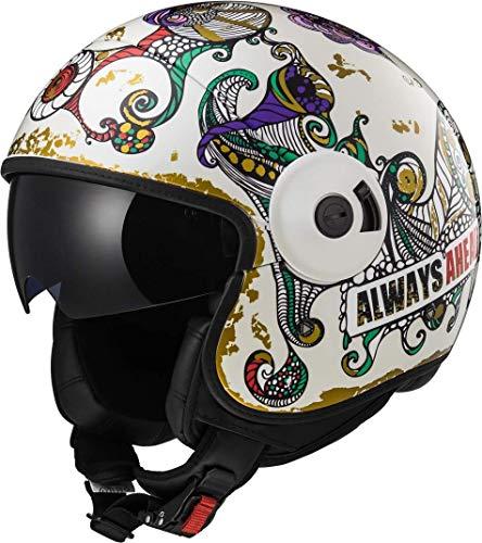 Preisvergleich Produktbild LS2 Helm Motorrad of597 Cabrio Flaunt,  weiß