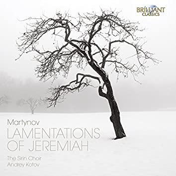 Martynov: Lamentations of Jeremiah