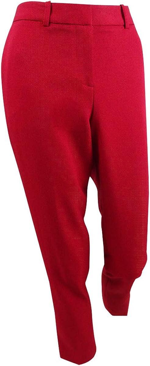 Tahari ASL Women's Petite Slim-Leg Pants
