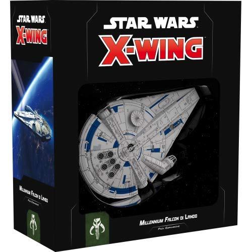 Asmodee Italia- Star Wars X-Wing Millenium Falcon von Lando, Colore, 9926