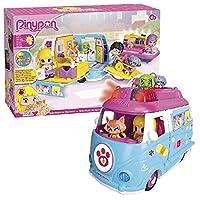 Pinypon ambulanza Una vera ambulanza con luci Numeri accessori, un cucciolo e una figura Pinypon inclusa