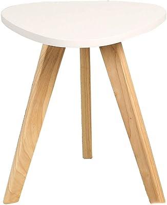 シンプルなコーナーコーヒーテーブルリビングルーム北欧の小さな丸いサイドテーブル屋外および屋内レジャーコーヒーテーブル (Color : B)