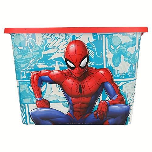 Stor Caja Click 23 L | Spiderman Comic Book
