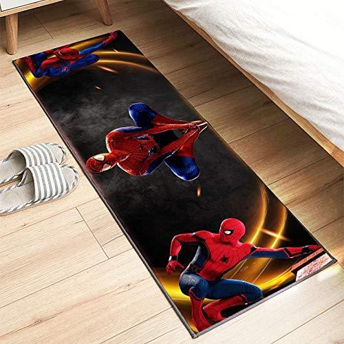 Tapis Longue Cuisine Chambre d'enfants Tapis De Sol De Jeu Salon Bain Chevet Couloir Coureur Dessin Animé Film Spiderman Garçon Fille Bébé Ramper