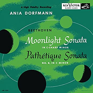 """Beethoven: Piano Sonatas Nos. 8 & 14 """"Moonlight and Pathétique"""""""