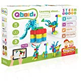 Engino ~ Qboidz ~ Learning About Animals   STEMQ01   STEAM   Construction System for Ages 3 and up, 5 Models