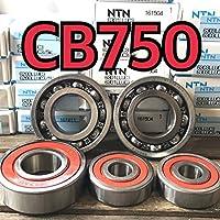 日本製 高耐久性 前後ホイールベアリング CB750 RC42 合計5個