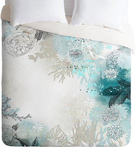 Deny Designs Iveta Abolina Seafoam Duvet Cover, King