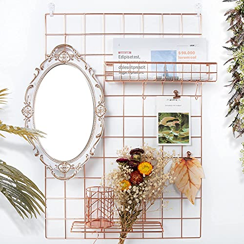 metal wire grid for home office