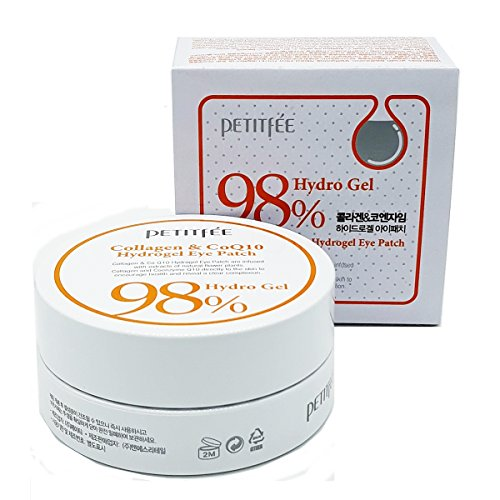 Petitfée - 98% Collagen & Coenzyme Q10 Hydro Gel Eye Essence Patch - 60EA