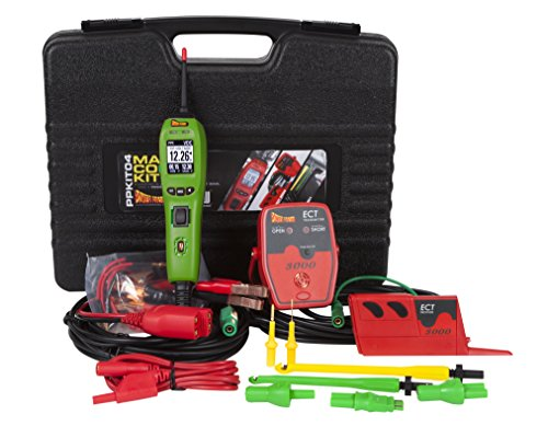 POWER PROBE IV Master Combo Kit - Green (PPKIT04GRN) Includes Power Probe IV with ECT3000 and Accessories
