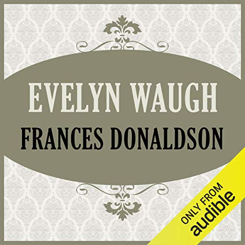 Evelyn Waugh audiobook cover art