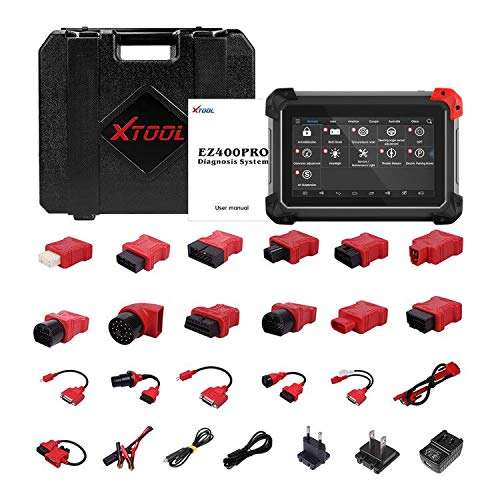 XTOOL EZ400 Pro OBD2 All System All Function Code Reader Diagnostic Scan Tool Read Live Data with Immobilizer Special Function