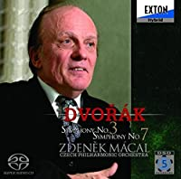 Dvorak: Symphonies Nos. 3 & 7 [Hybrid SACD] [Japan] (2007-04-25)
