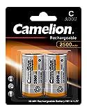 Camelion 17025214 Akku (NiMH, Baby, R14 (C), 2500 mAh, 2er-Pack)