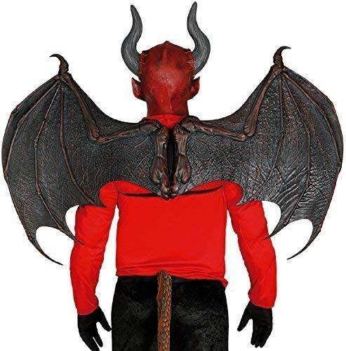 Hommes Femmes Extra Large Dragon Noir Démon Cosplay Convention Tv Livre Film Ailes Accessoire Déguisement Accessoire