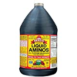 Bragg Liquid Aminos All Purpose Seasoning – Soy Sauce Alternative – Gluten Free, No GMO's, Kosher Certified, 128 ounce