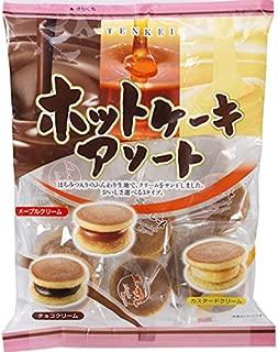 Pancake Assorted Custard, Maple, Chocolate cream Bite size set 175g