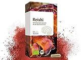 MEDICOM BIO Reishi Kapseln, biozertifiziert – 400 mg hochwertiges Reishi-Konzentrat aus Ganoderma...