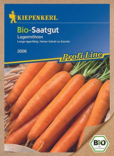 Möhrensamen - Möhren Rothild - Lagermöhre (Bio-Saatgut) von Kiepenkerl