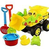 Chendaorong Juego del Cerebro Castillo Cubo Pala de Hierro Escorpión Juguetes for niños 6 Piezas de Juguetes de Playa Juguetes para niños pequeños para niños