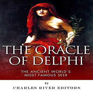 The Oracle of Delphi audiobook cover art