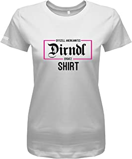 Jayess Offizell anerkanntes Dirndl Ersatz Shirt - Wiesn Trachten Oktoberfest - Damen T-Shirt