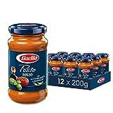 Barilla - Pesto Rosso - 12 confezioni da 200g [2.4kg]