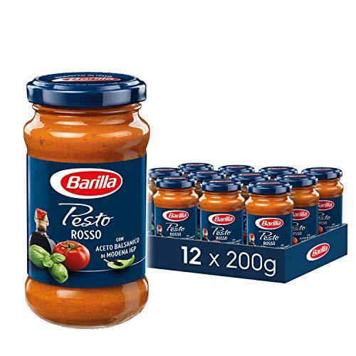 Barilla rotes Pesto Rosso, 12er Pack (12x200 g)